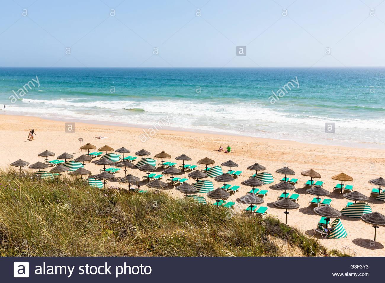 Praia da Galé, Albufeira, Algarve, Portugal - Stock Image