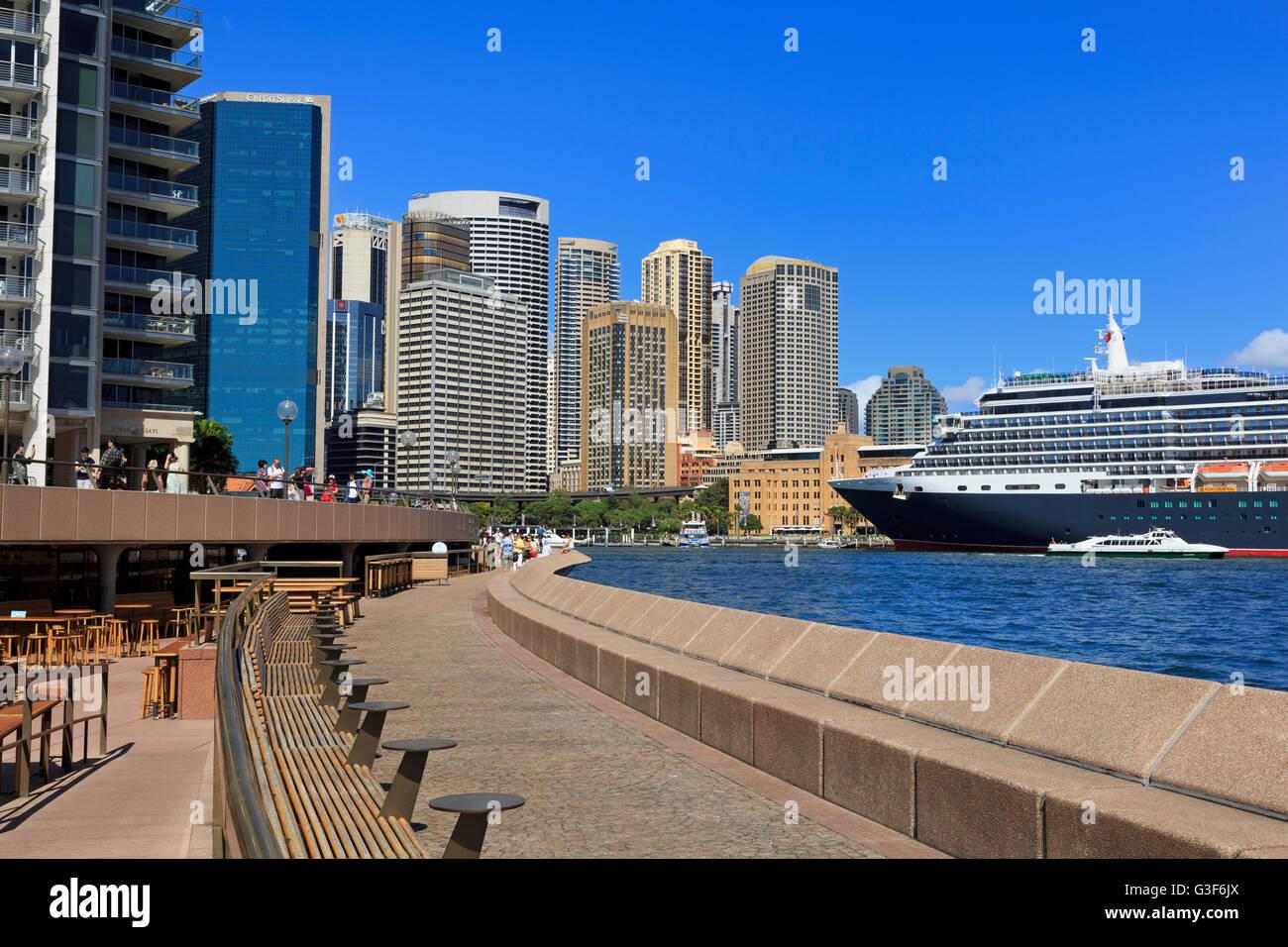 Circular Quay, Sydney, New South Wales, Australia - Stock Image