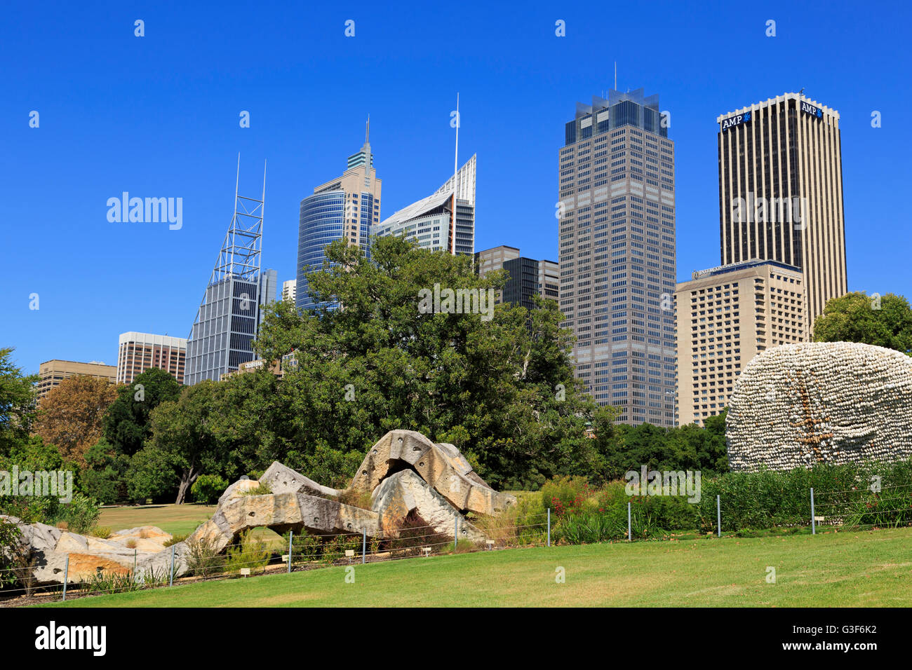 Royal Botanic Garden, Sydney, New South Wales, Australia - Stock Image
