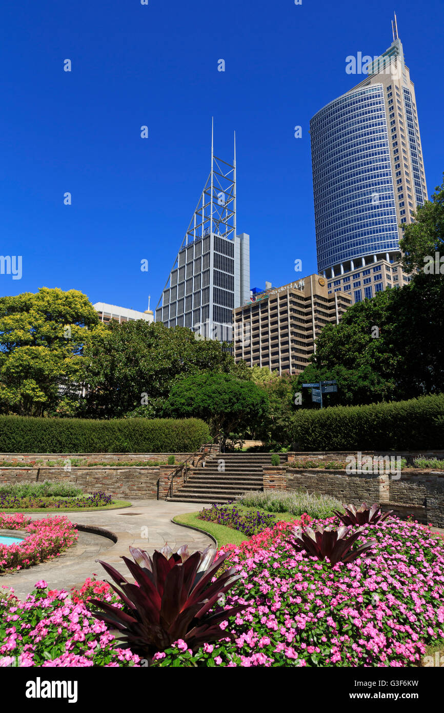 The Royal Botanic Garden, Sydney, New South Wales, Australia Stock Photo