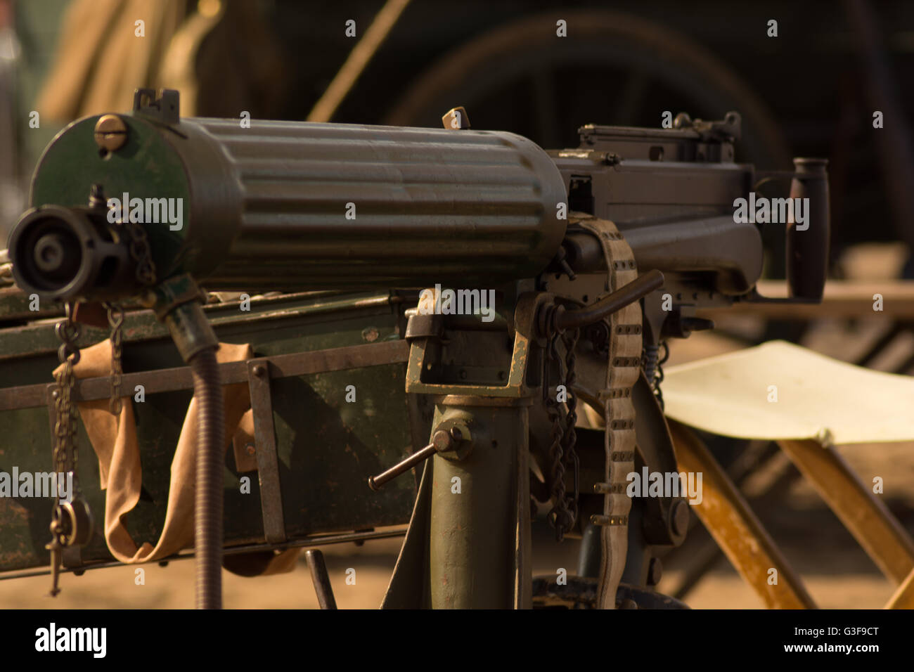 Maxim Machine Gun Stock Photos & Maxim Machine Gun Stock Images - Alamy