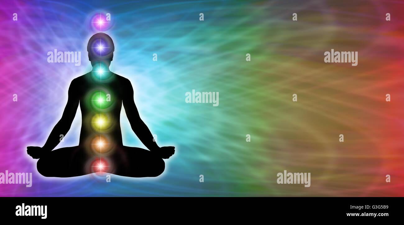 Chakra Meditation Website Banner