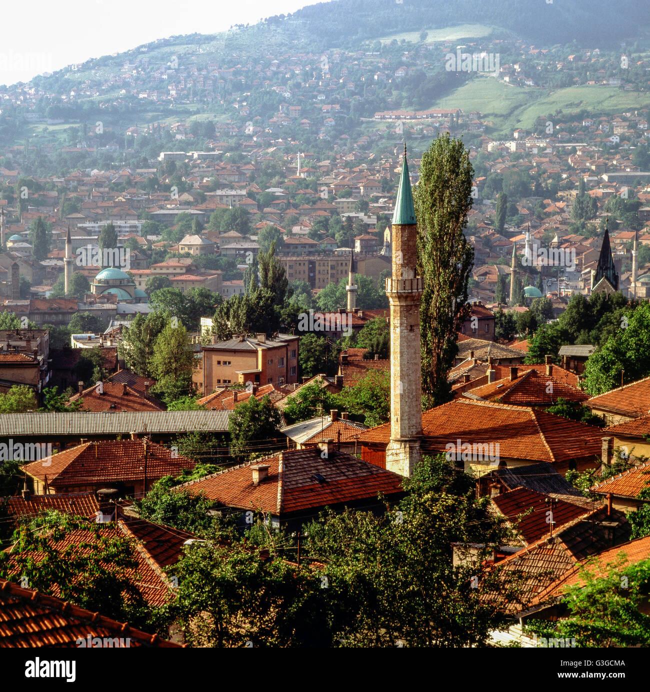 Sarajevo, Bosnia-Herzegovina - Stock Image