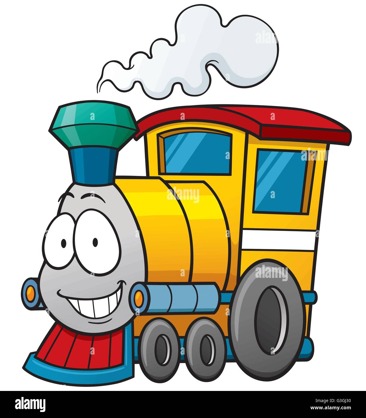 Cartoon Train Stock Photos Cartoon Train Stock Images Alamy