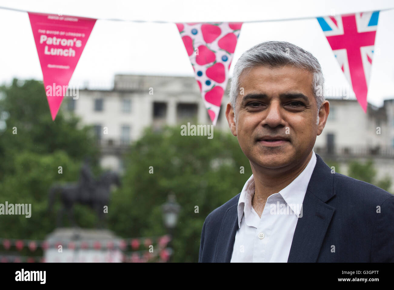 London, UK. 12 June 2016. Sadiq Khan, Mayor of London, British Politician and Member of the Labour Party. Stock Photo