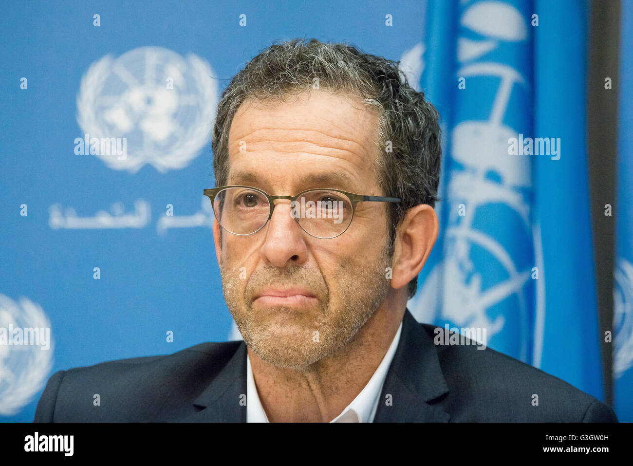 New York, United States. 07th June, 2016. Kenneth Cole speaks at the press conference. On the eve of the start of Stock Photo