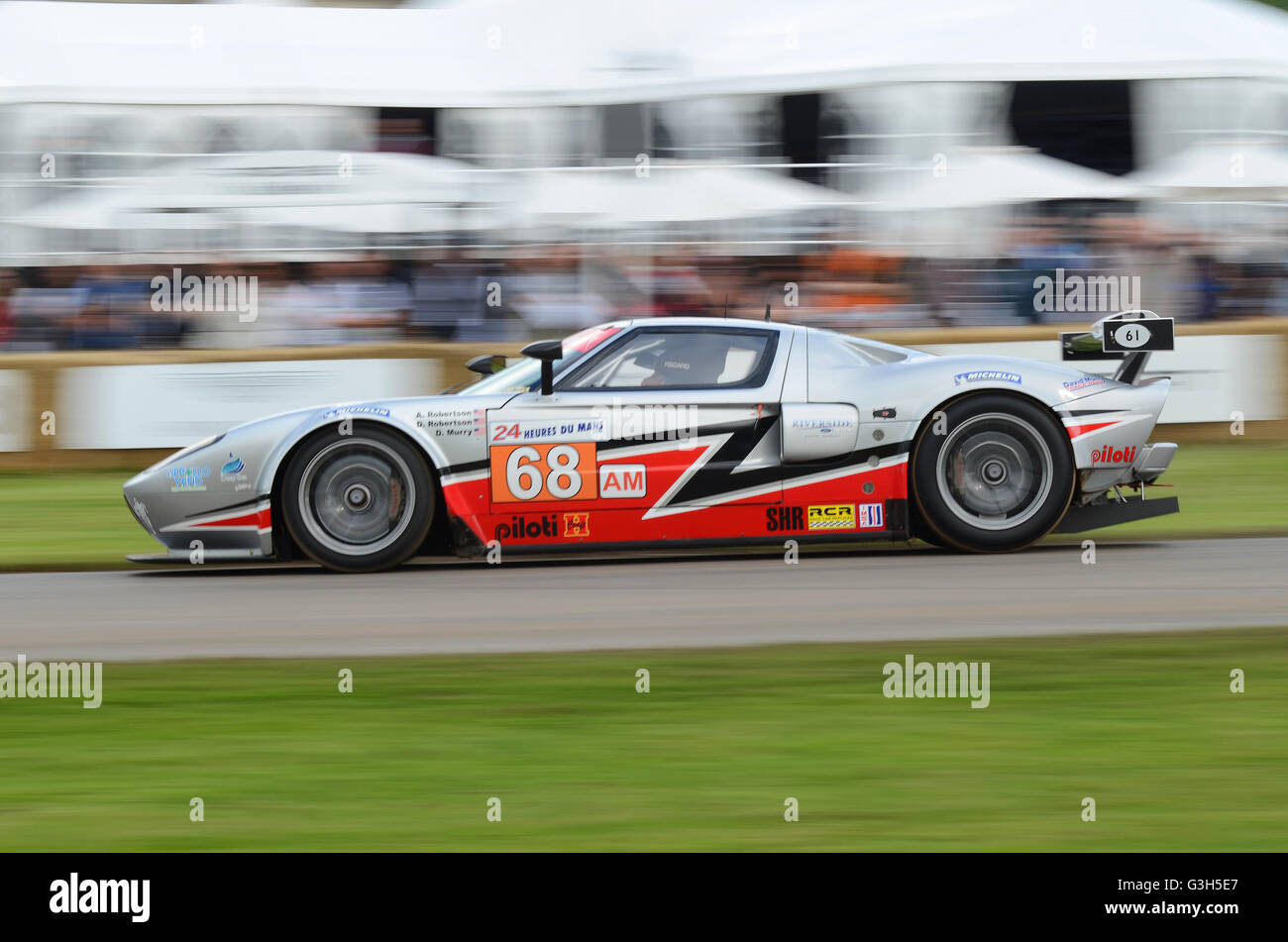 Ford Gt Lm Gte At Goodwood Festival Of Speed Stock Image