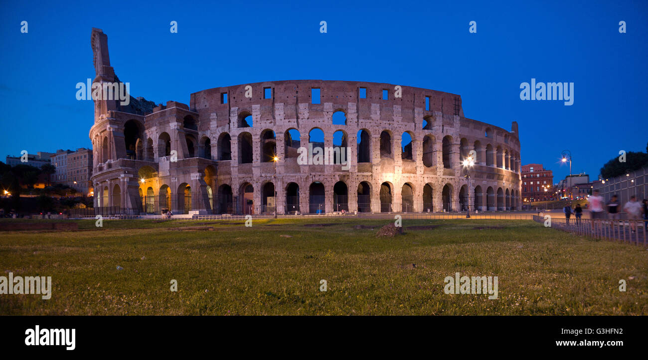 The Colosseum Rome Italy Stock Photo