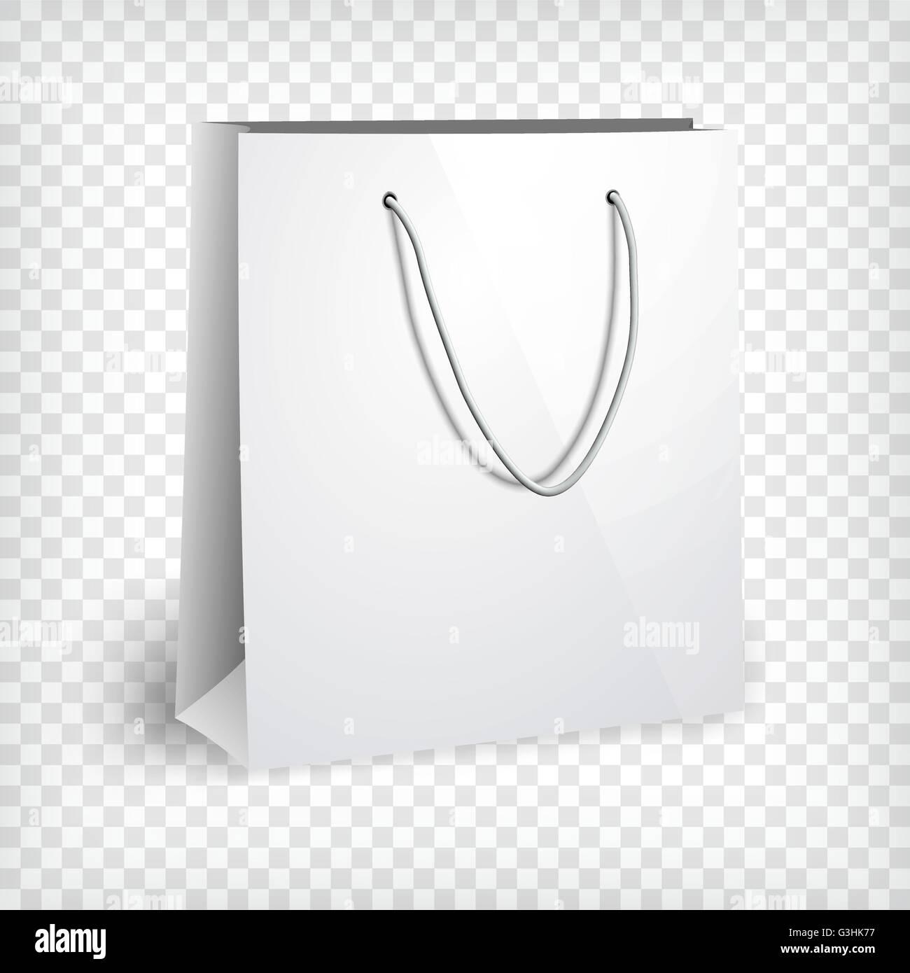 blank paper bag template stock vector art illustration vector