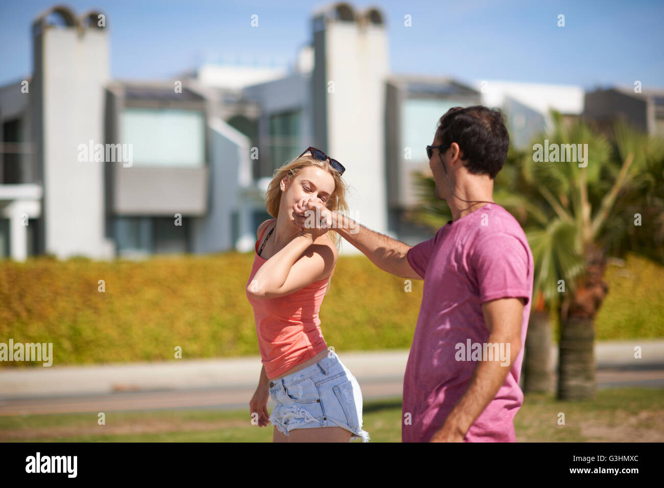Kiss why woman hand man Why do