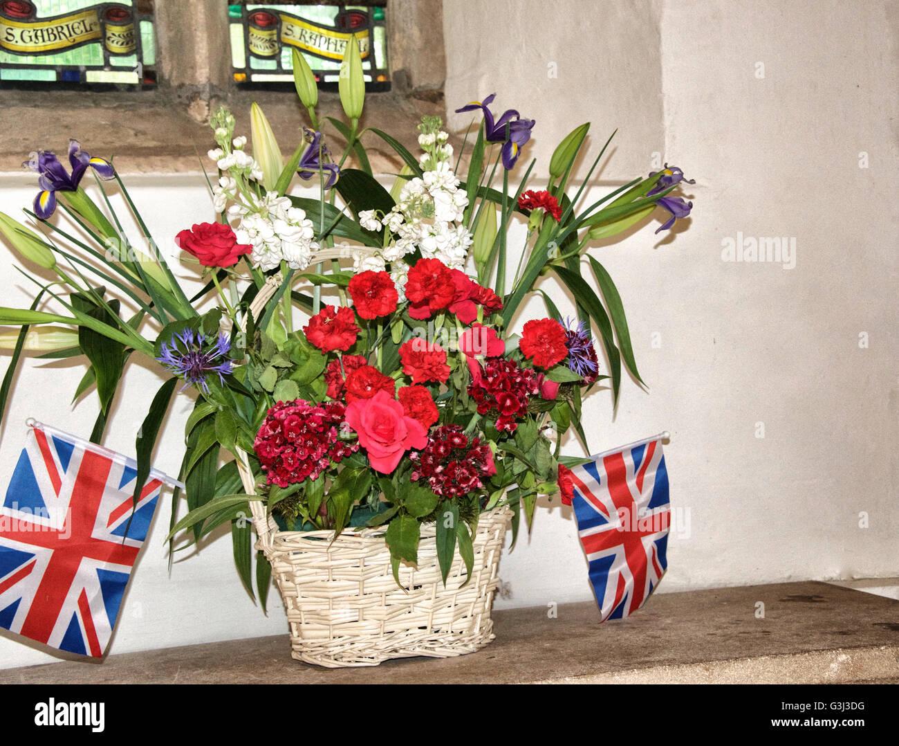 Queen Elizabeth II 90th Birthday Decorations UK