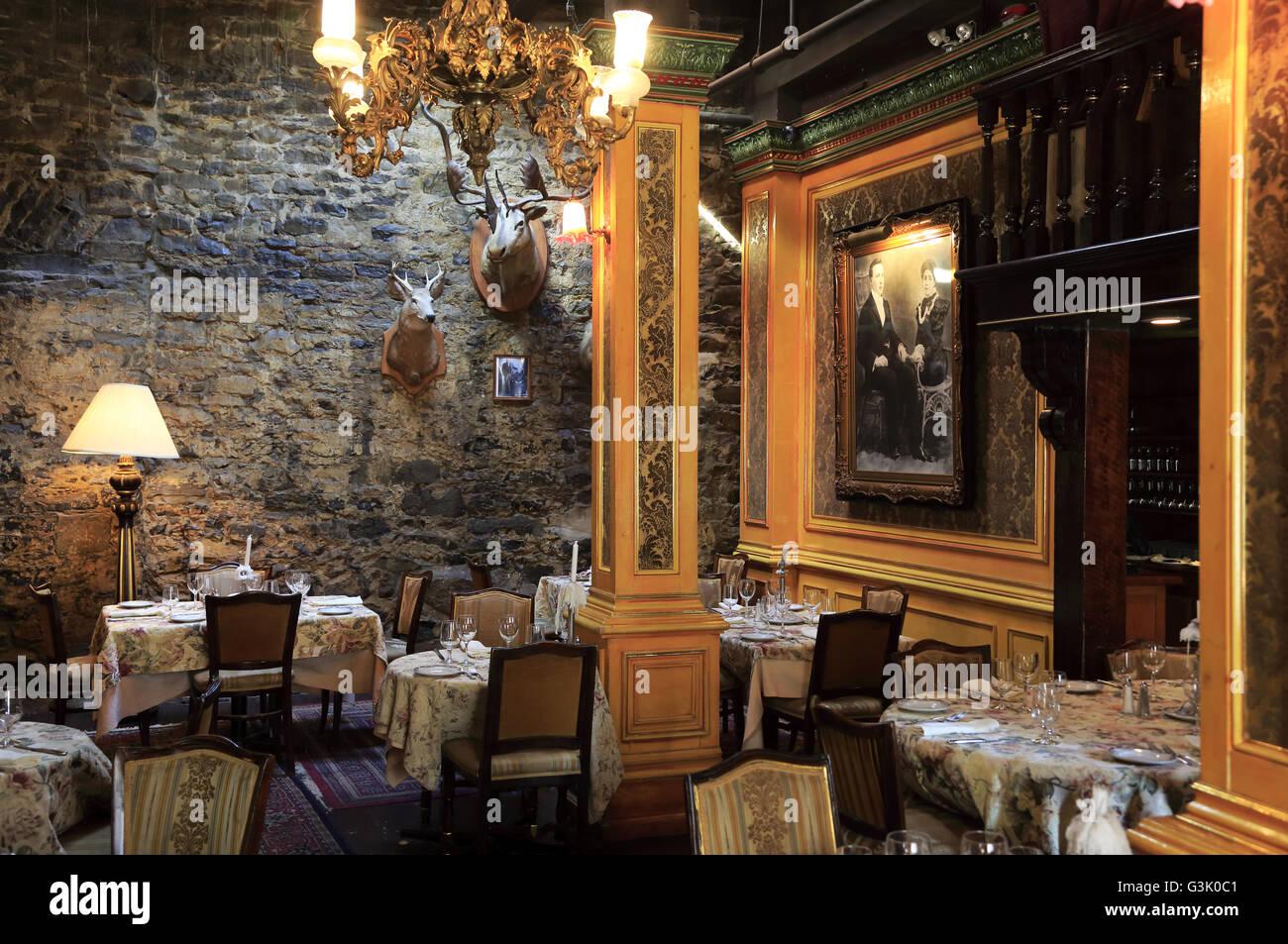 The Restaurant Of La Maison Pierre Du Calvet Hotel In Old Stock