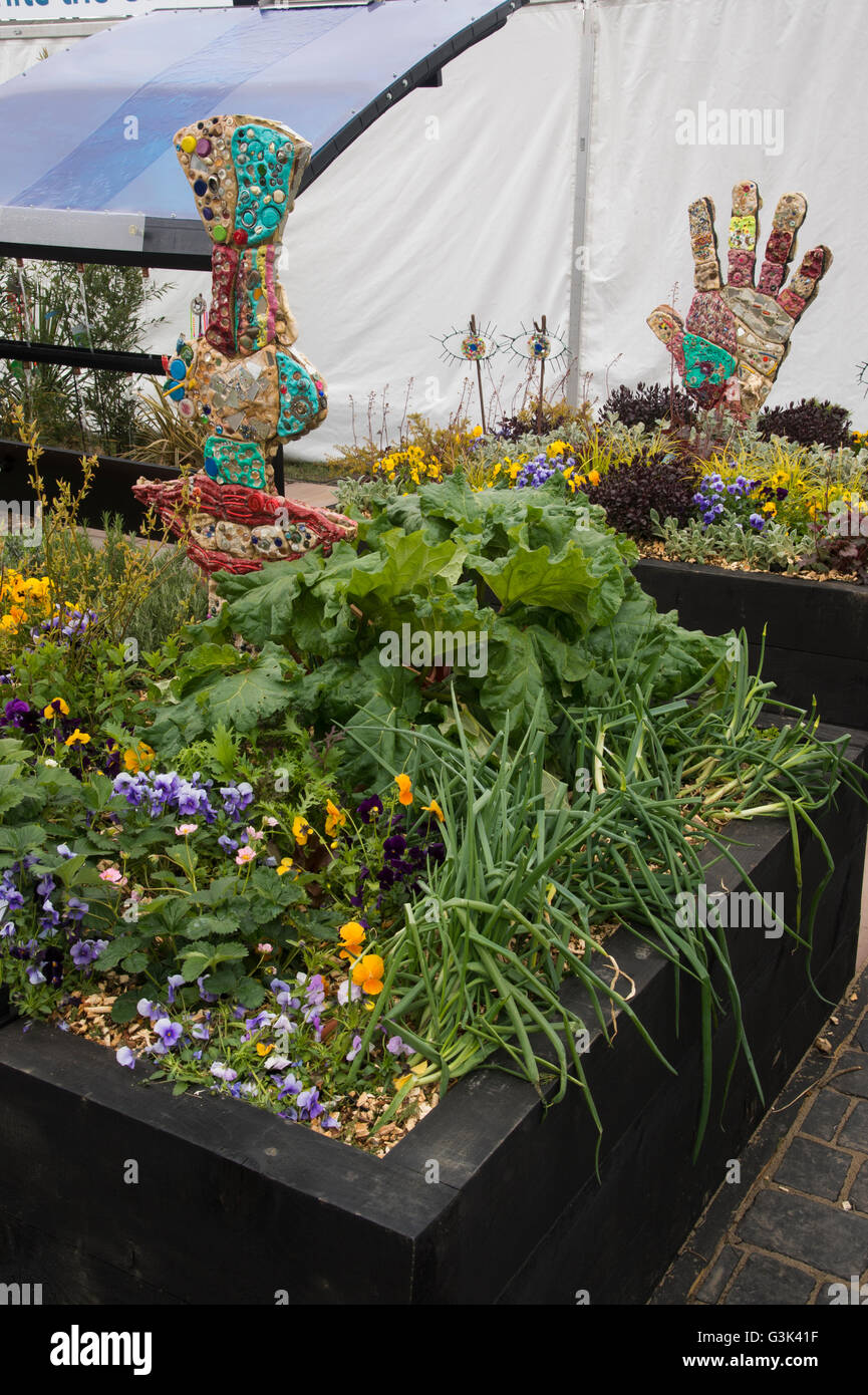 Georges Garden Harrogate Spring Flower Show 2016 North Yorkshire