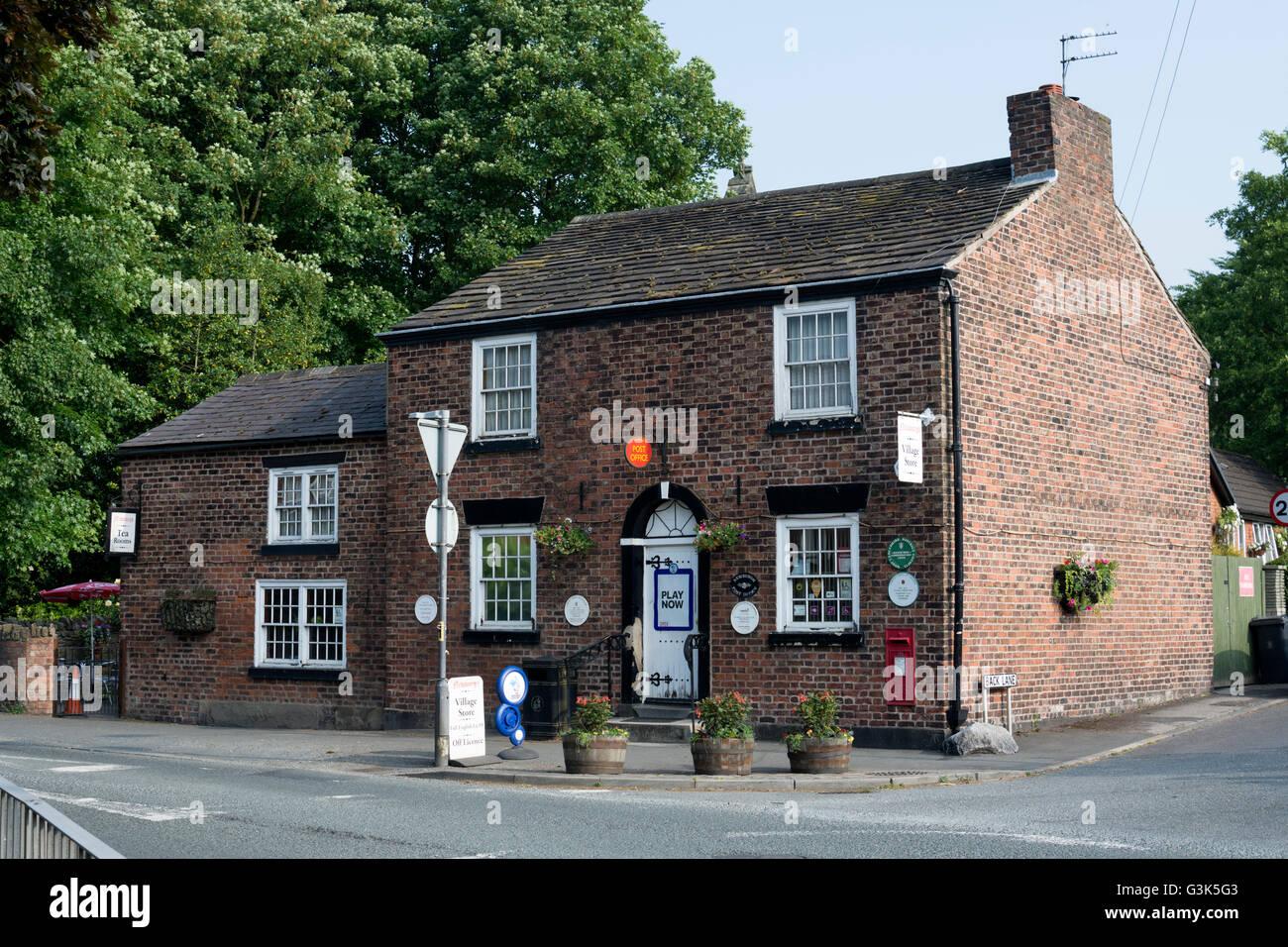 The post office, Newburgh, Lancashire, England, UK - Stock Image