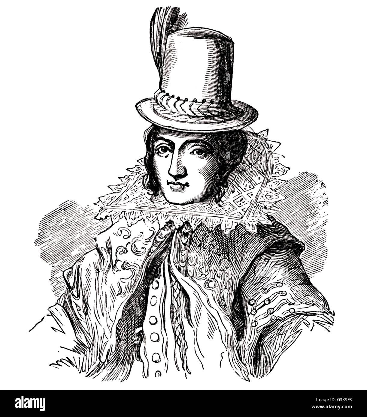 Pocahontas, 1595 - 1617 Stock Photo
