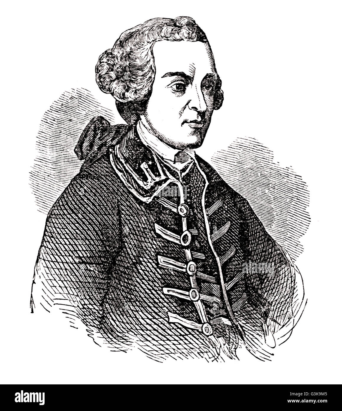 John Hancock, 1737 - 1793 - Stock Image