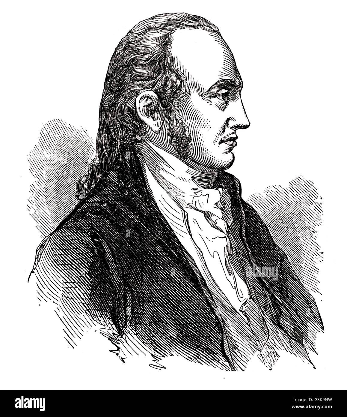 Aaron Burr, 1756 - 1836 - Stock Image