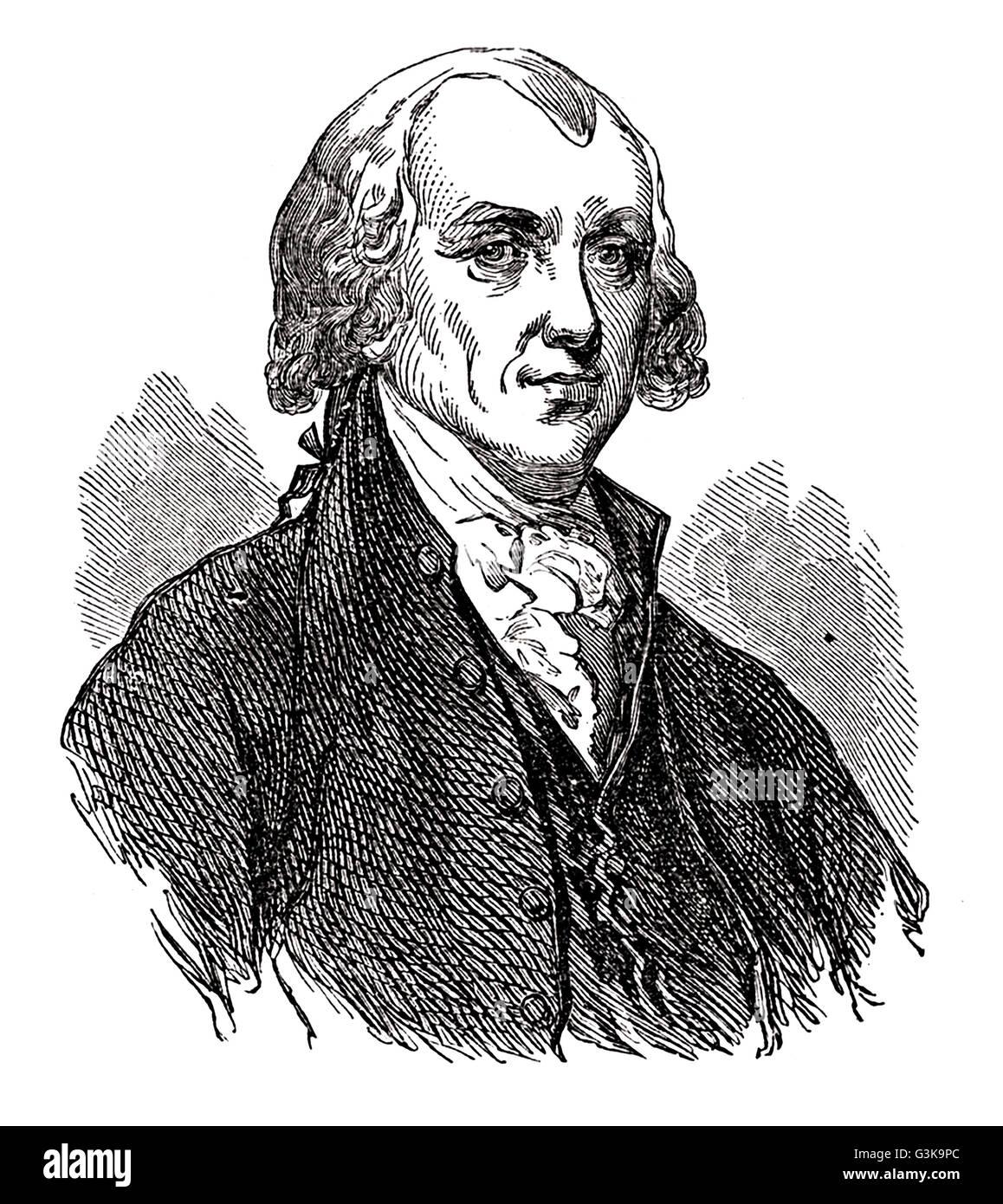 James Madison, 1751 - 1836 - Stock Image