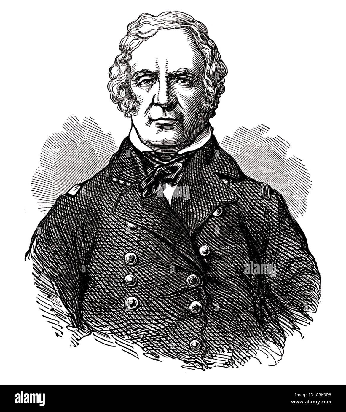 Zachary Taylor, 1784 - 1850 Stock Photo