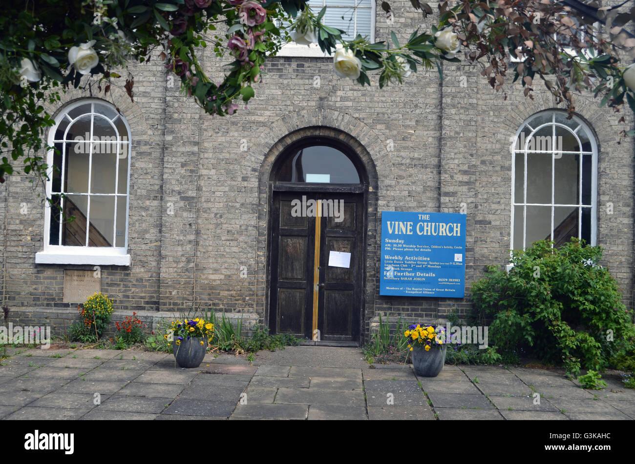 Vine Church, Eye, Suffolk - Stock Image