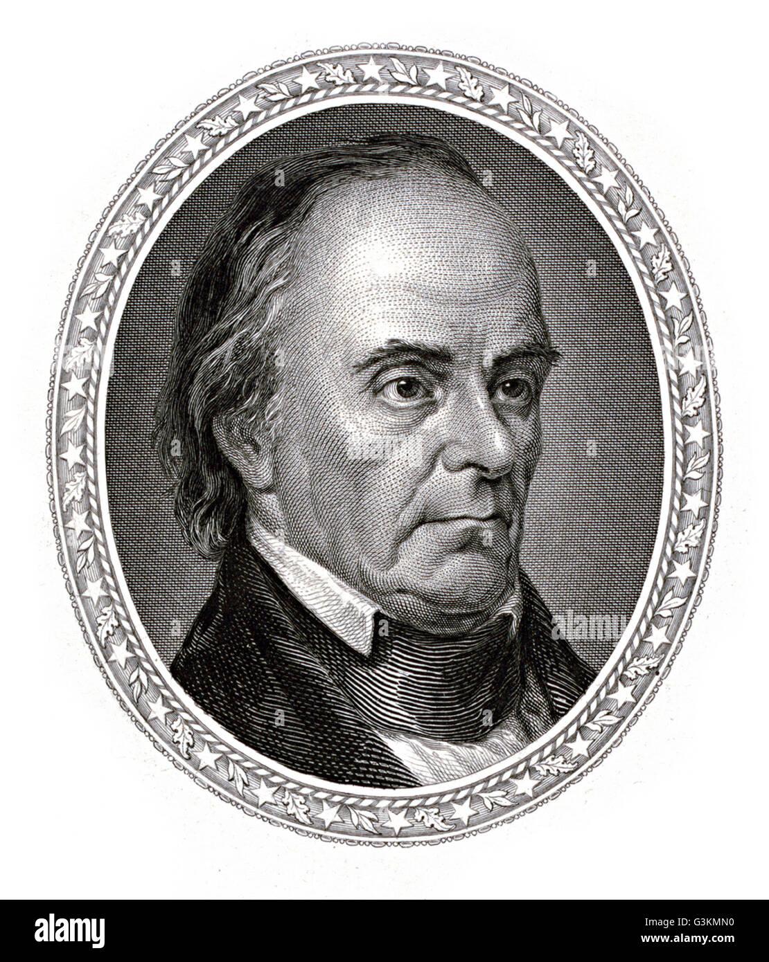 Daniel Webster, 1782 - 1852 - Stock Image