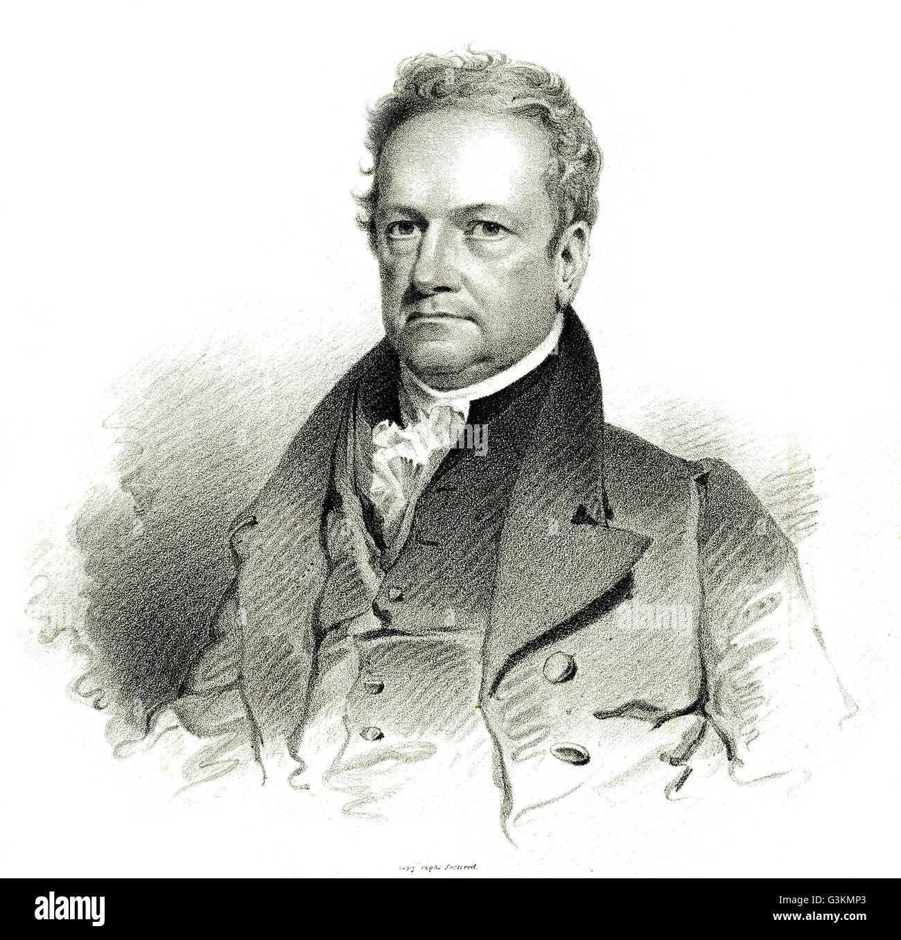 DeWitt Clinton, 1769 - 1828 - Stock Image