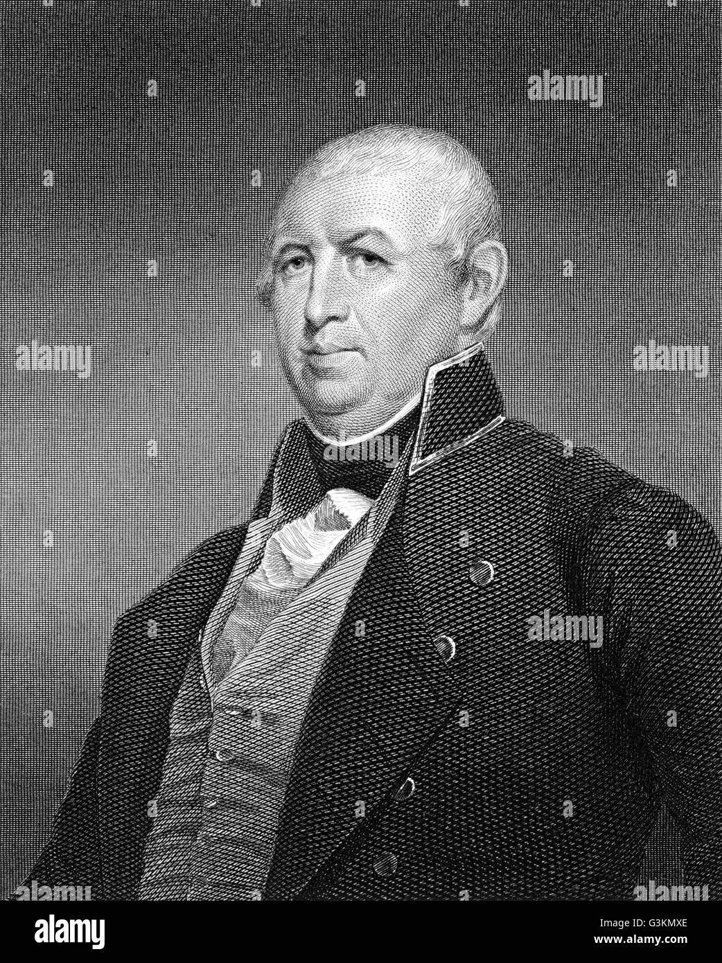 Isaac Shelby, 1750 - 1826 - Stock Image
