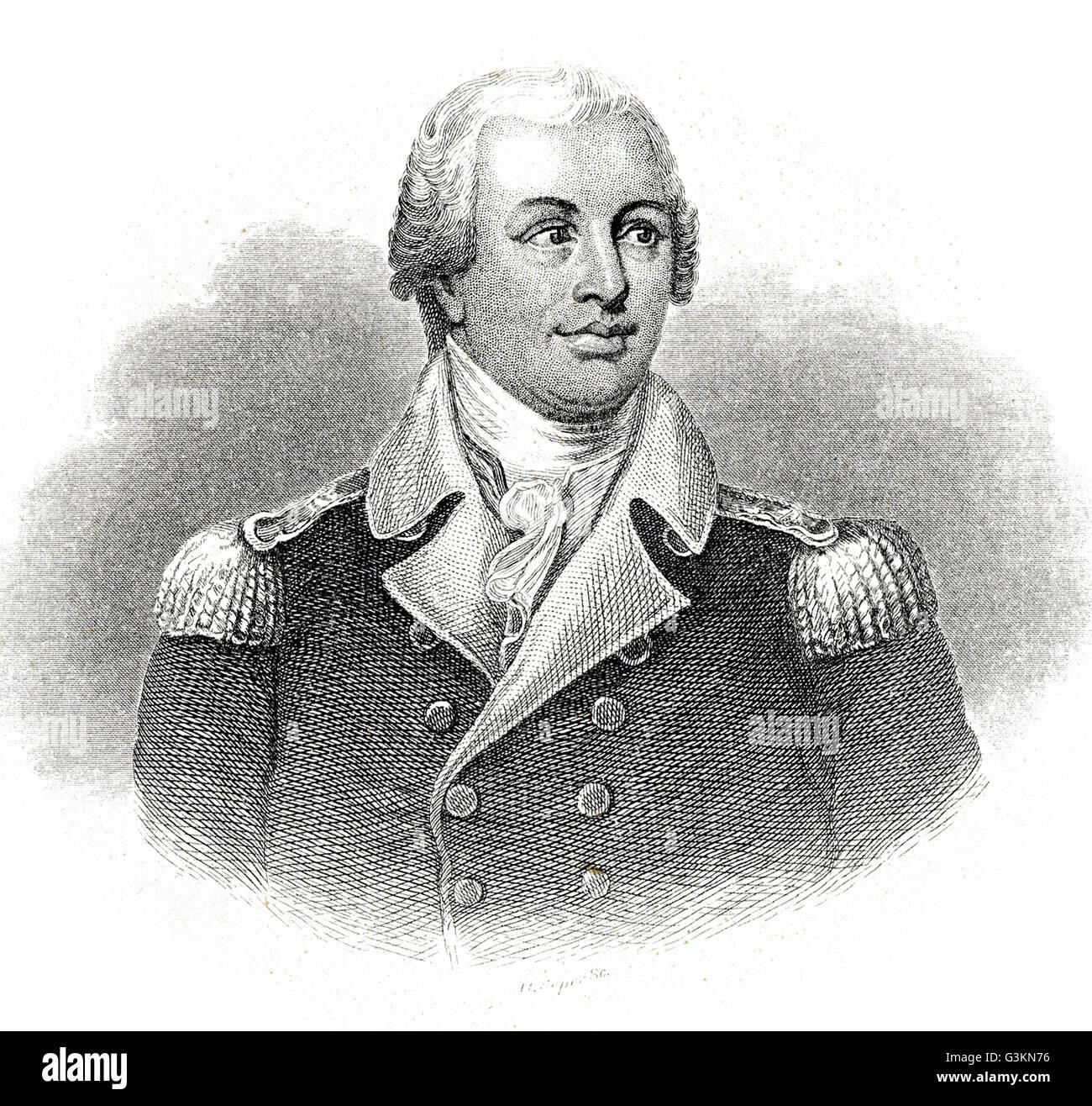 Nathaniel Greene, 1742 - 1786 - Stock Image