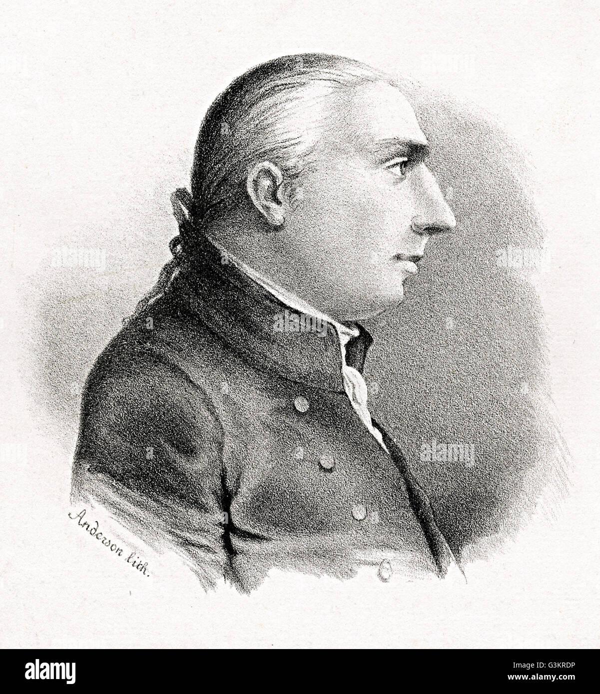 Rufus Putnam, 1738 - 1824 - Stock Image