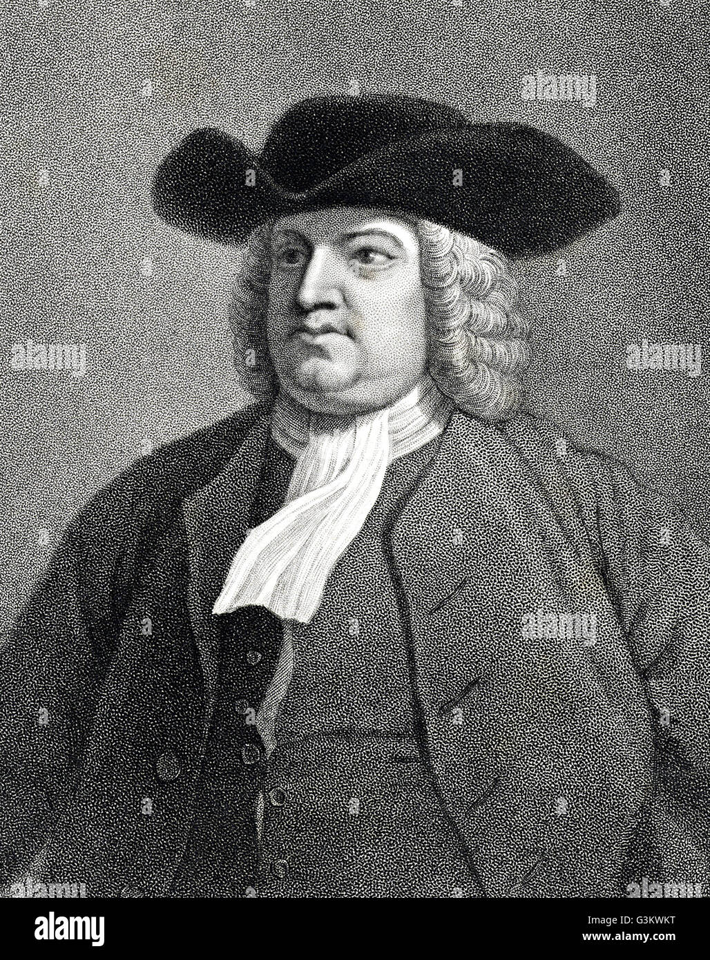 William Penn, 1644 - 1718 Stock Photo