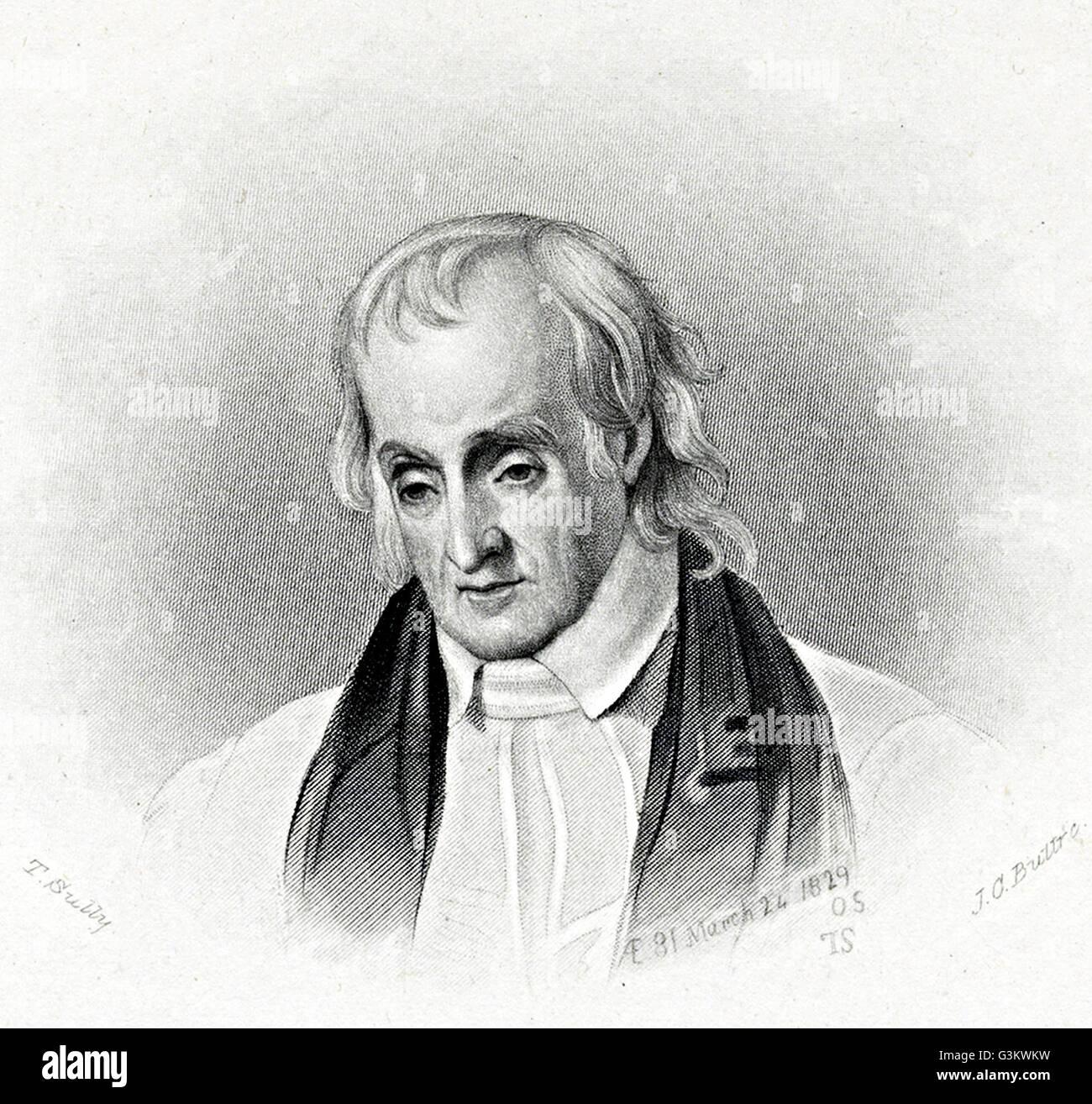 William White, 1748 - 1836 Stock Photo