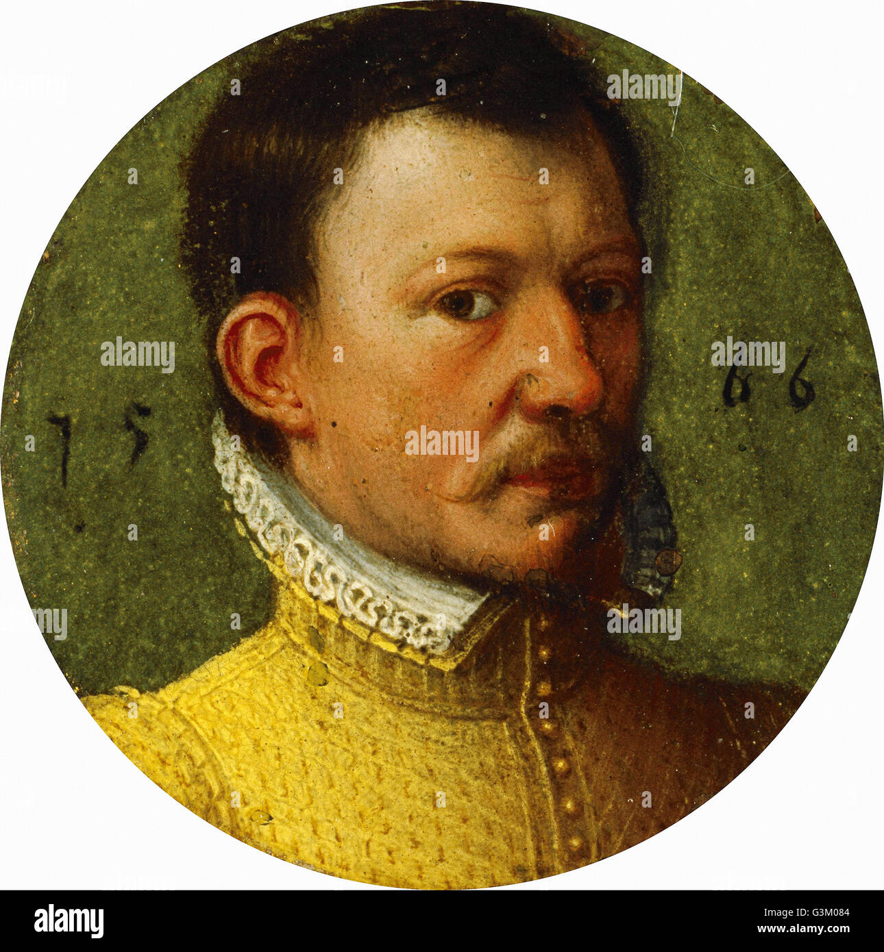 James Hepburn, 4th Earl of Bothwell, c 1535 - 1578. Third husband of Mary Queen of Scots - Stock Image