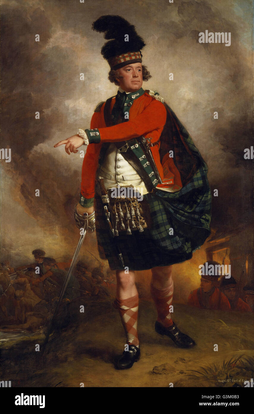 John Singleton Copley - Hugh Montgomerie, 12th Earl of Eglinton, 1739 - 1819  - - Stock Image