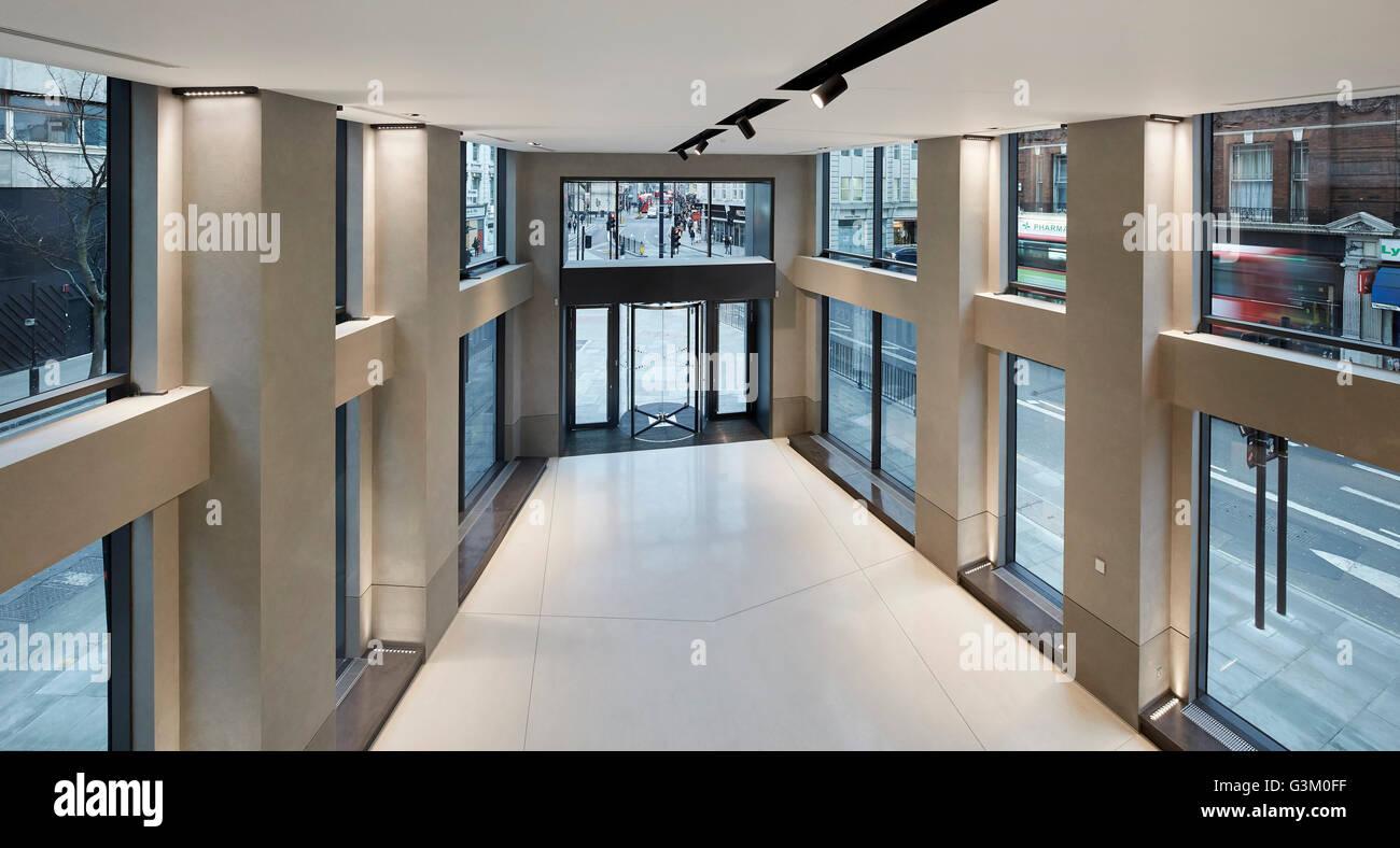 mezzanine floor office. View From Mezzanine Towards Main Entrance On Ground Floor. Bloomsbury Way, London, United Floor Office O
