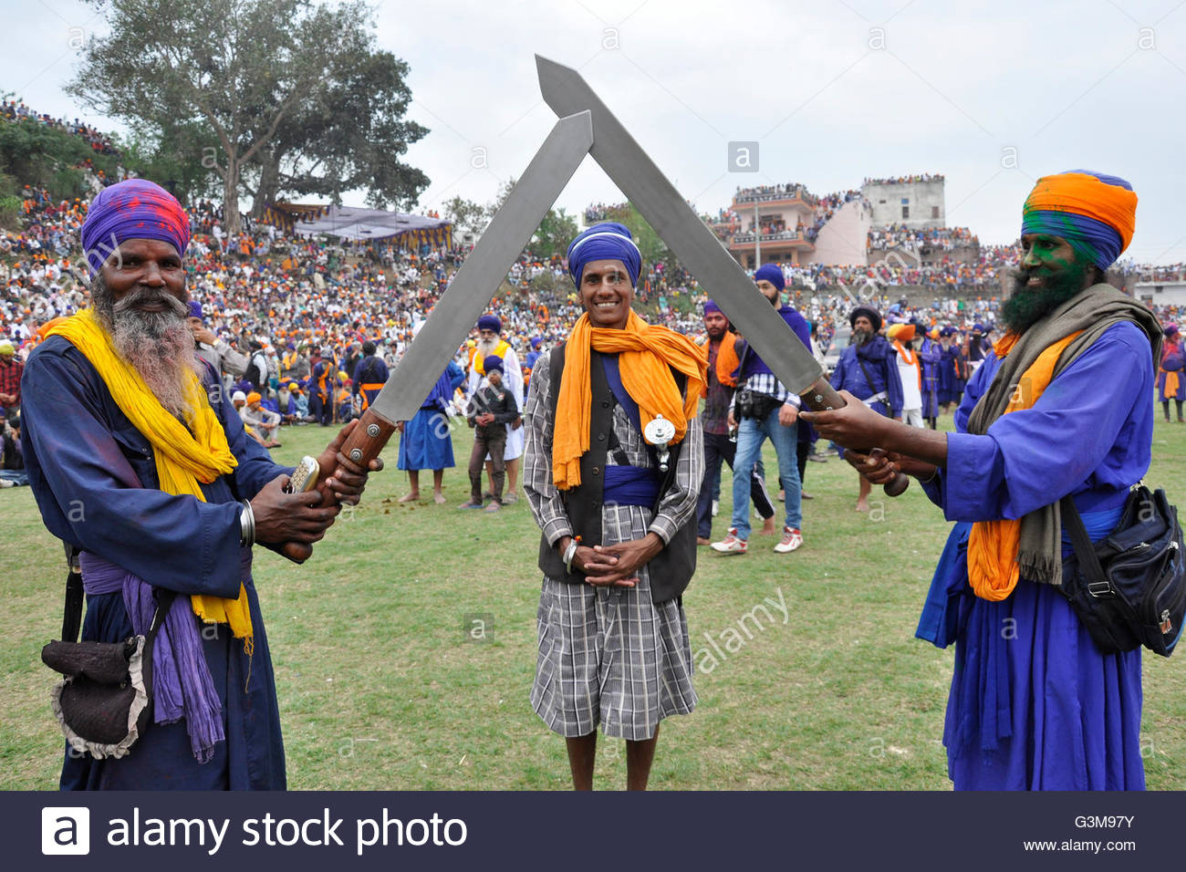 Hola Mohalla Stock Photos and Images