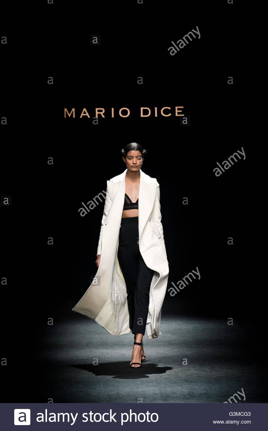 Milan,Fashion week,Mario Dice - Stock Image