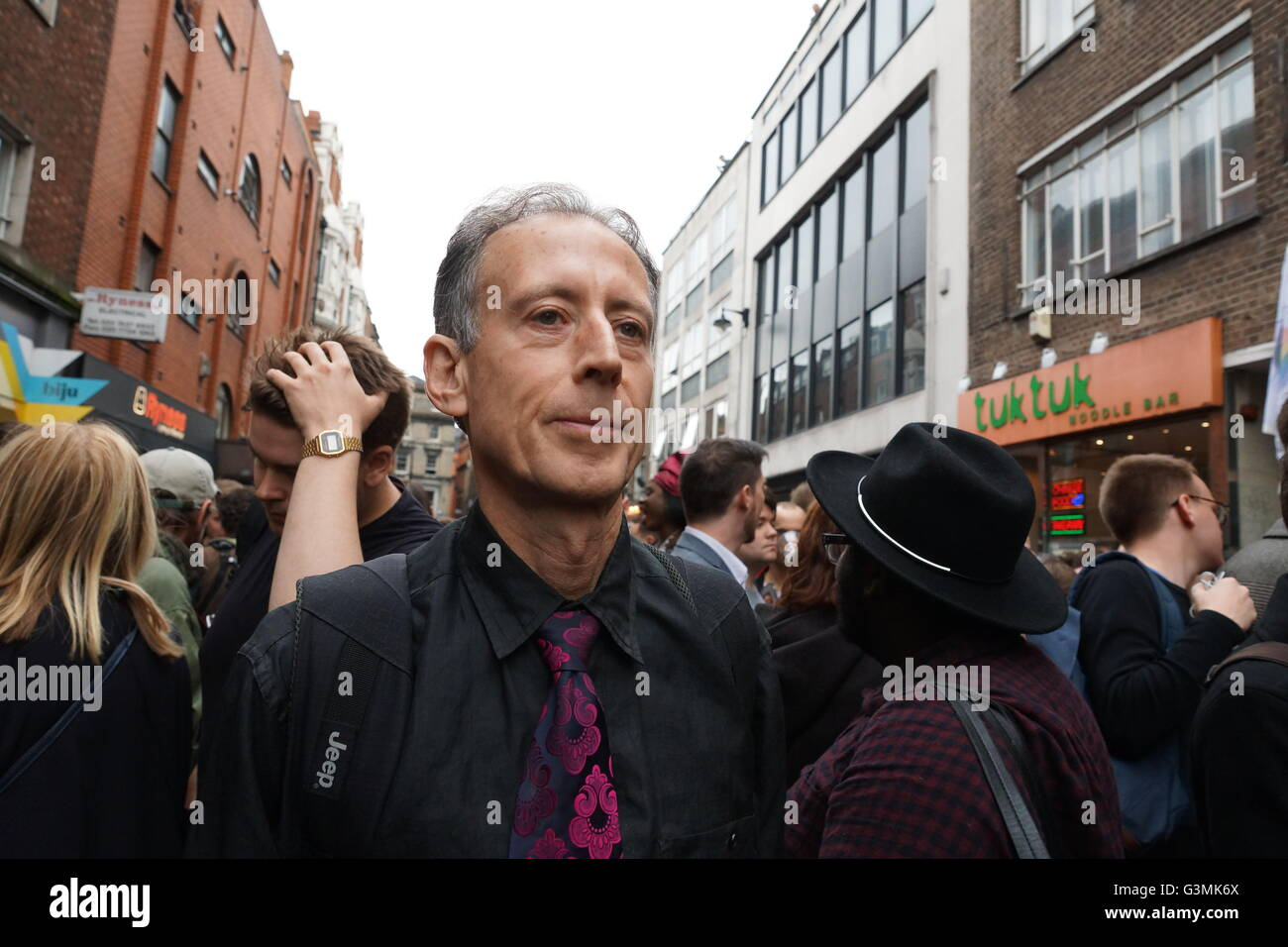 Peter Tatchell, eminent gay rights campaigner