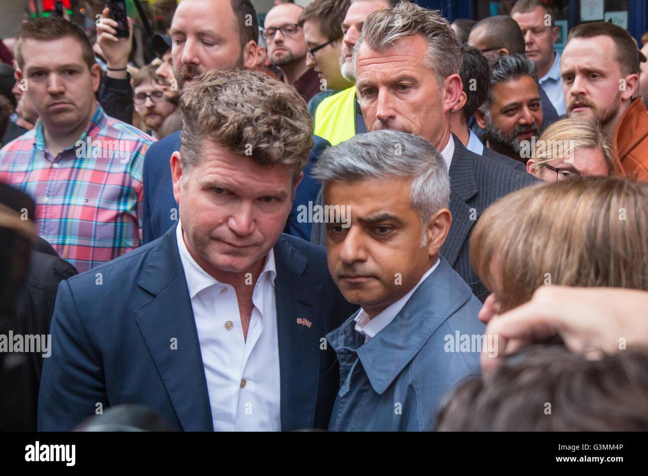 US Embassador and Mayor of London - Stock Image