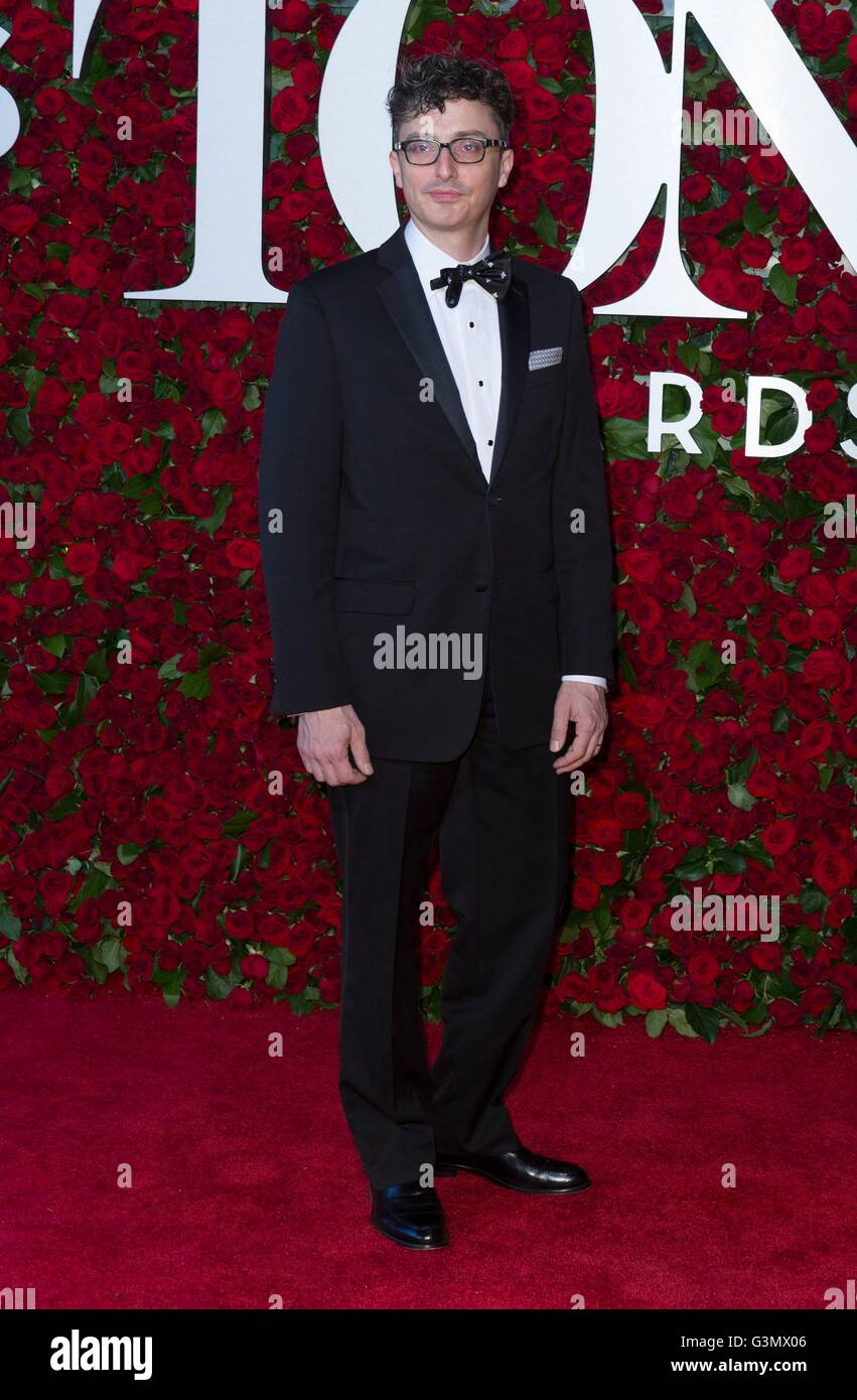 Beowulf Boritt at arrivals for 70th Annual Tony Awards 2016 - Arrivals 2, Beacon Theatre, New York, NY June 12, - Stock Image