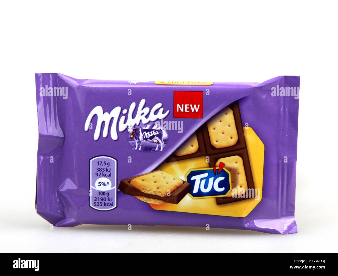 Milka Chocolate Milk Chocolate Cut Out Stock Images