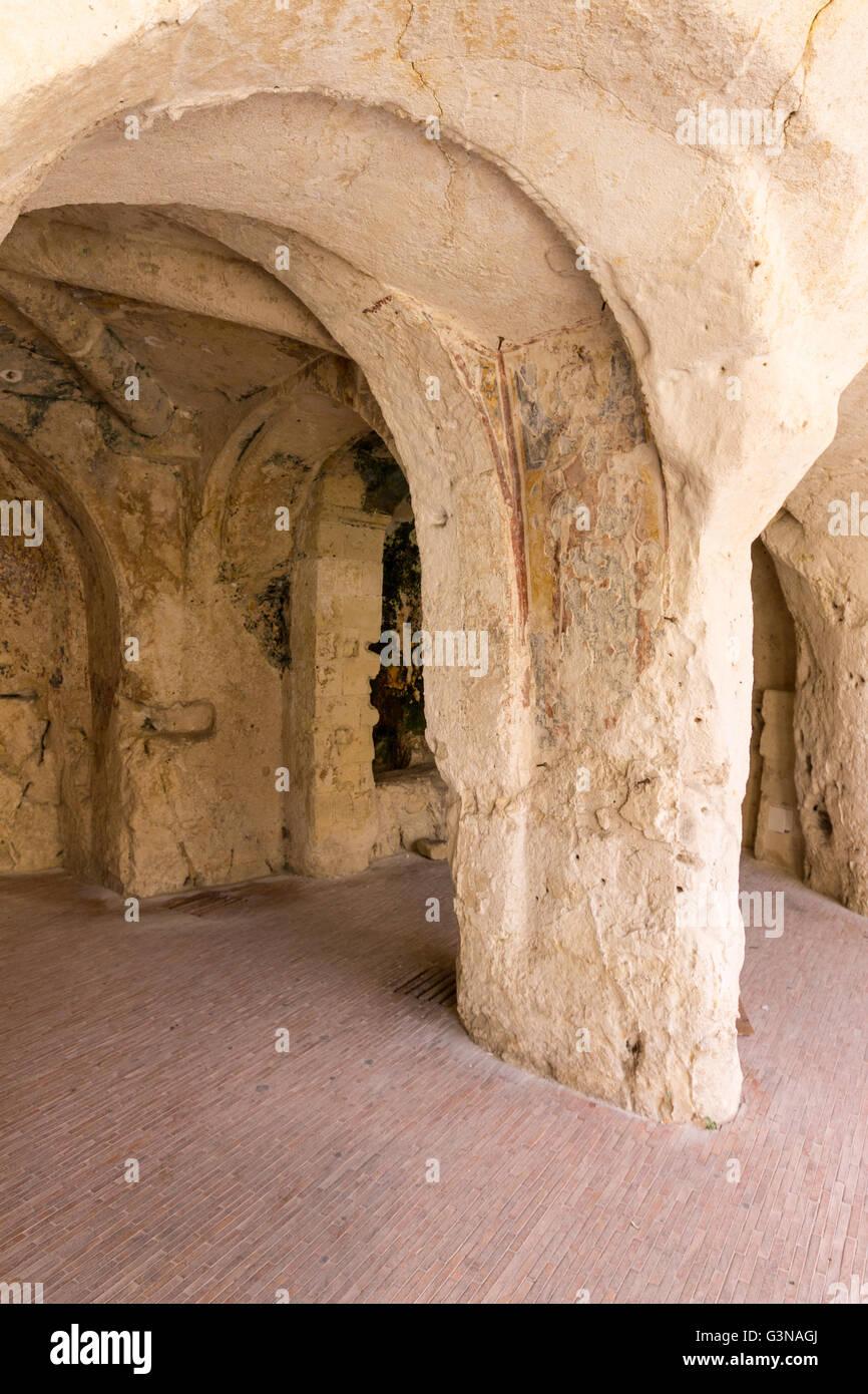 Italy, Basilicata, Matera, Santo Spirito church Stock Photo