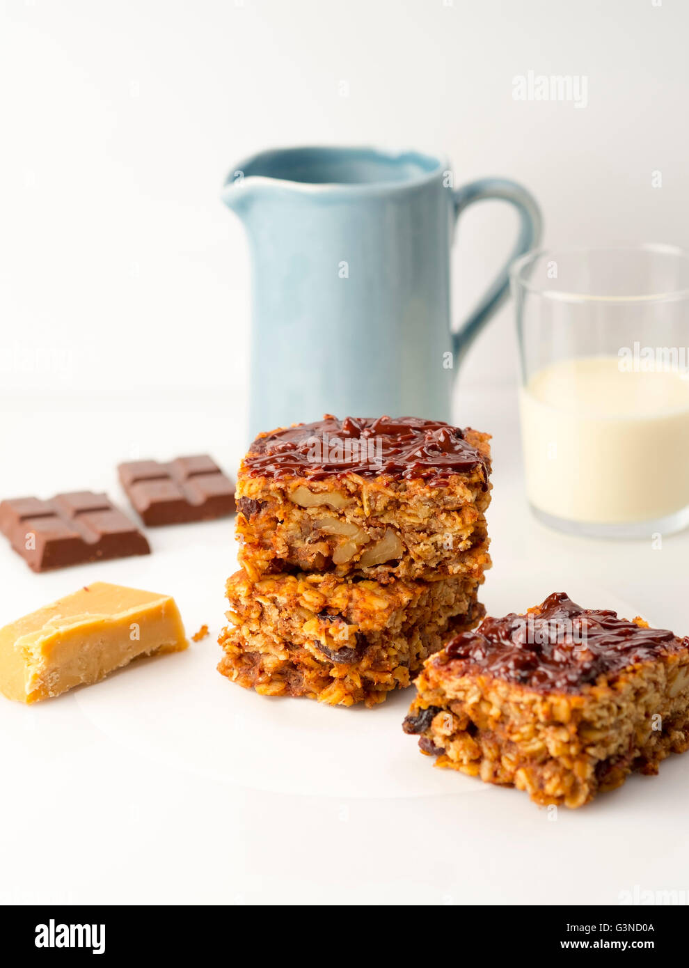 Granola nut bars - Stock Image