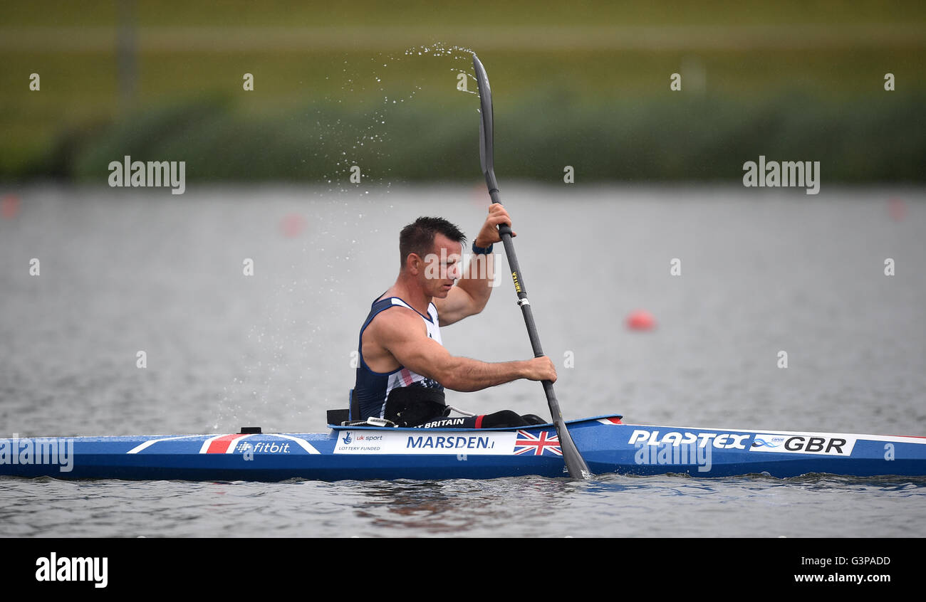 Great Britain\'s Ian Marsden during the team announcement at Eton ...