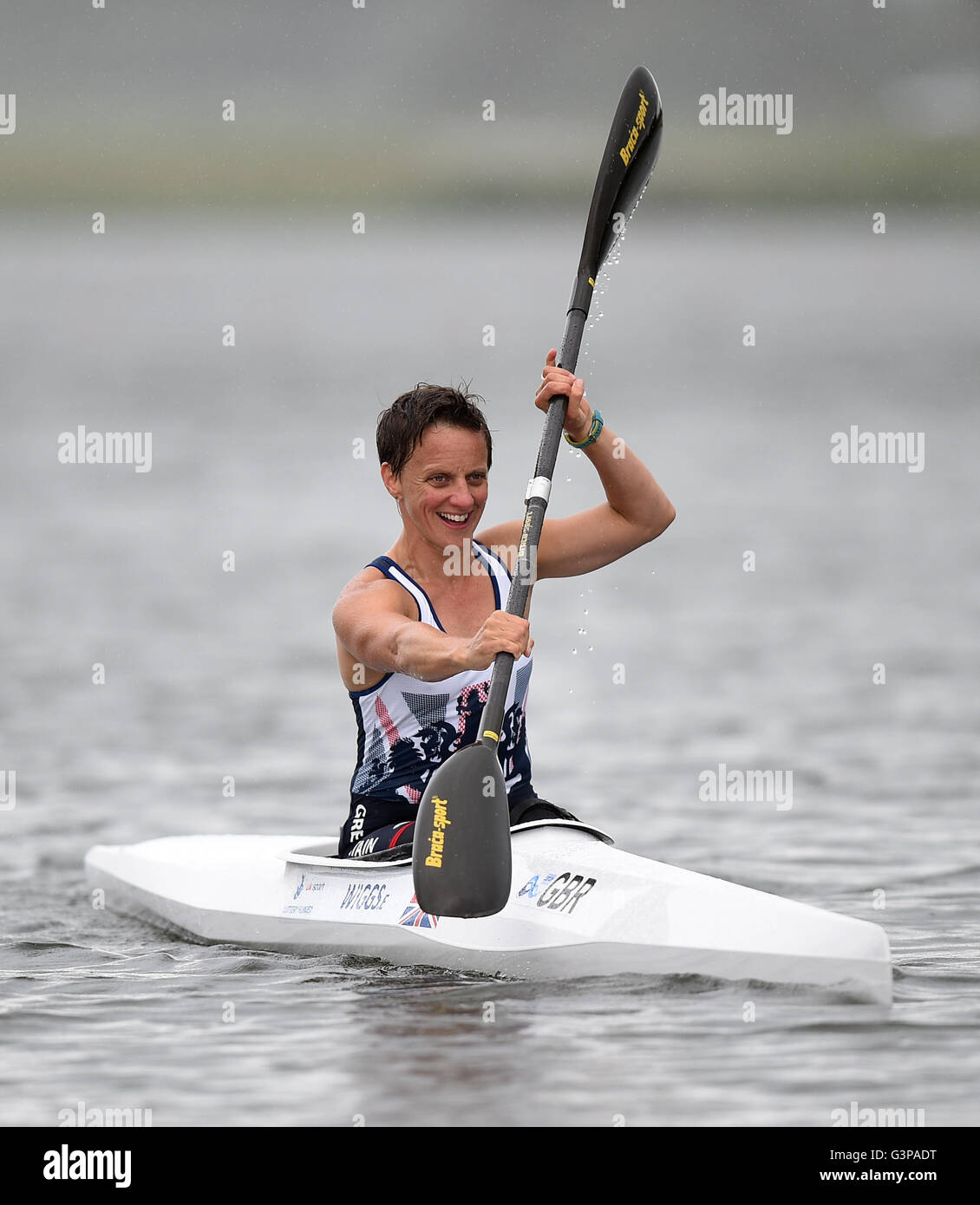 Great Britain\'s Emma Wiggs during the team announcement at Eton ...