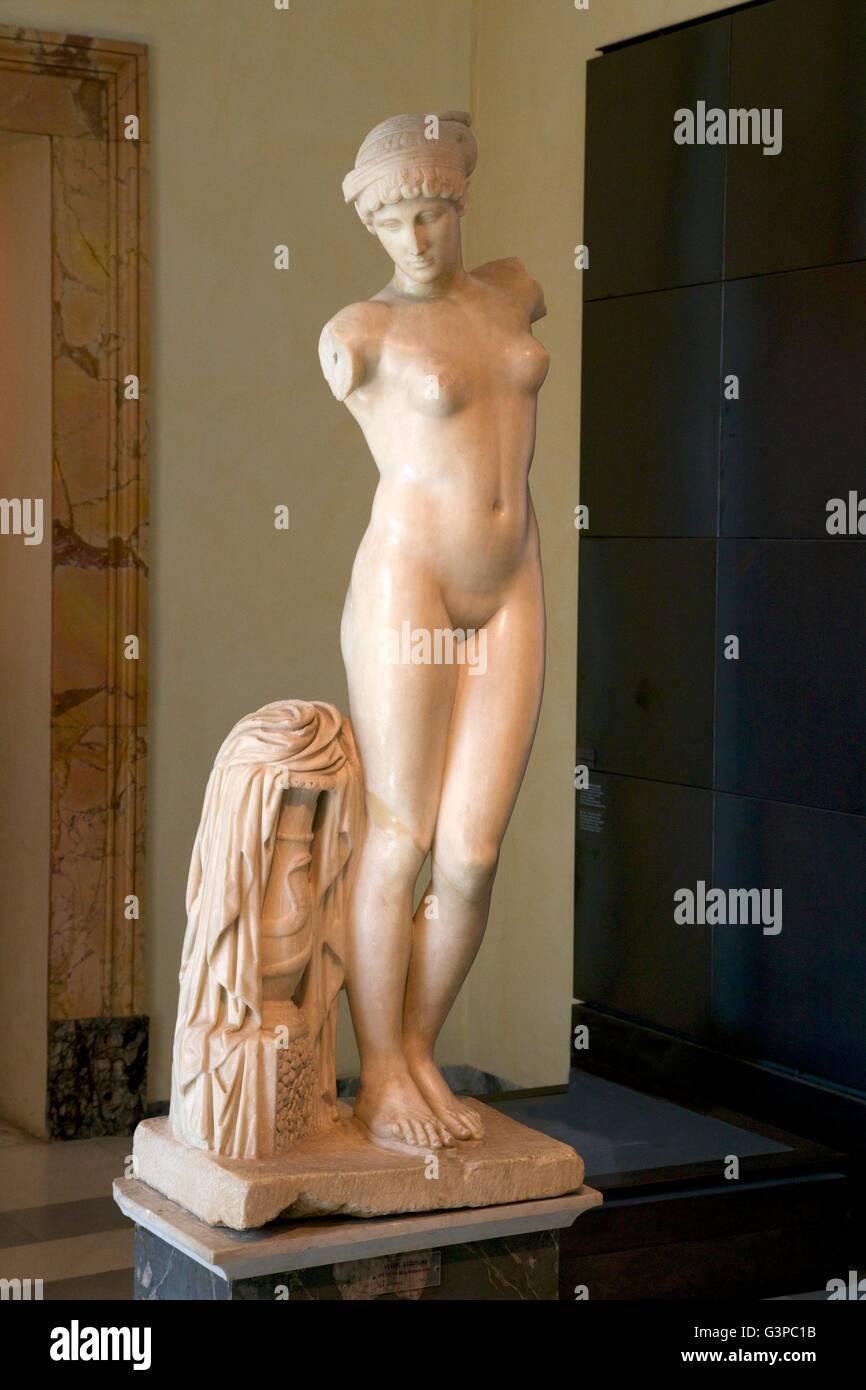 Esquiline Venus, 1st century BC, Palazzo dei Conservatori,  Capitoline Museum, Rome, Italy - Stock Image
