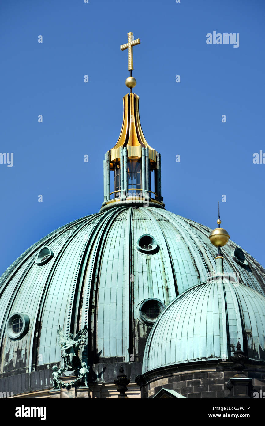 Berliner Dom ( Cathedral ) Mitte Berlin Germany Stock Photo
