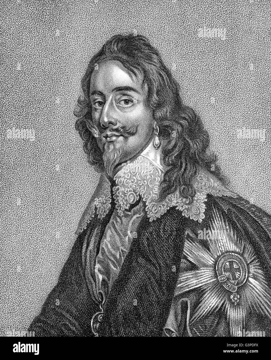 Charles I, 1600 - 1649, king of England, Scotland and Ireland - Stock Image