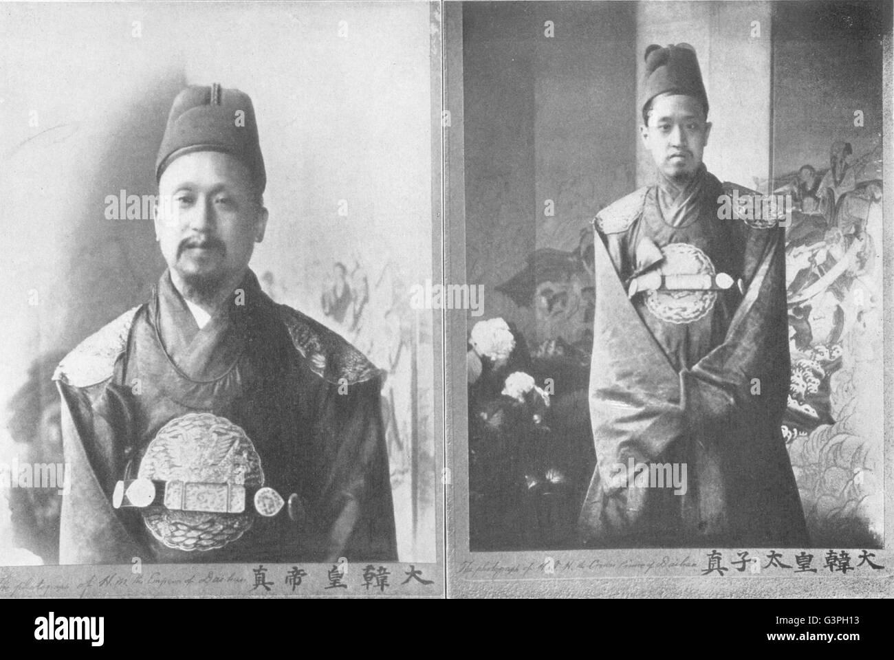 Emperor Of Korea Stock Photos & Emperor Of Korea Stock