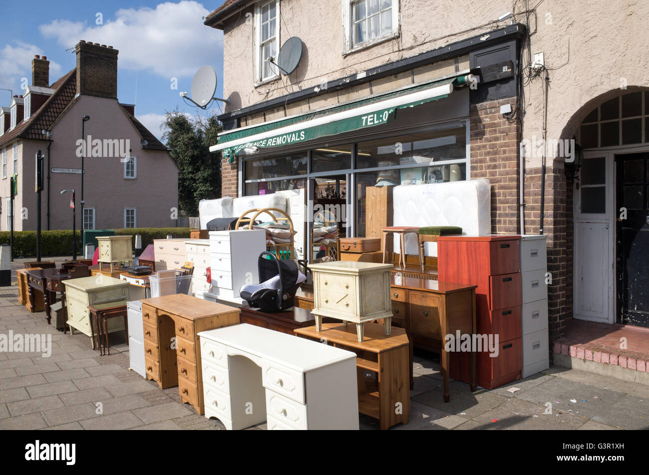 Picture of: Secondhand Furniture High Resolution Stock Photography And Images Alamy