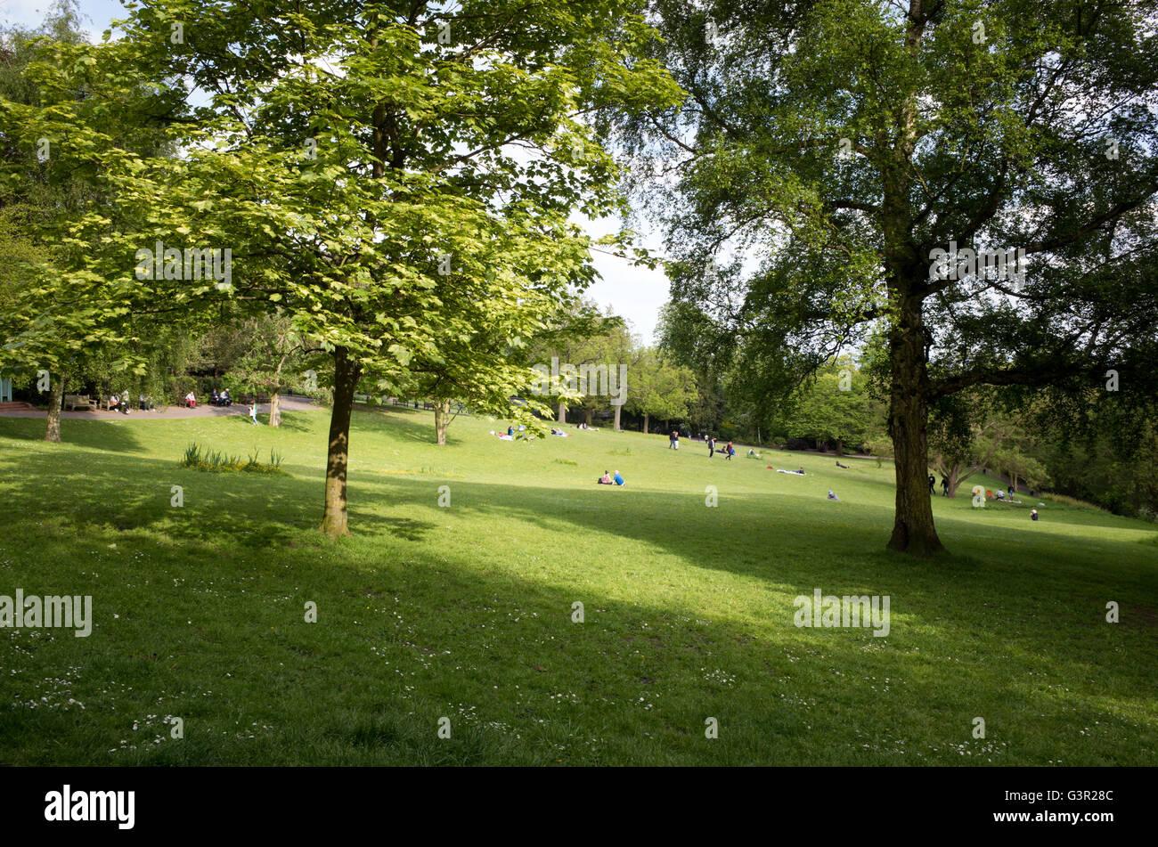 Waterlow Park in Highgate, London, England, UK - Stock Image
